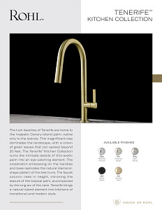 ROHL Tenerife Kitchen 2021
