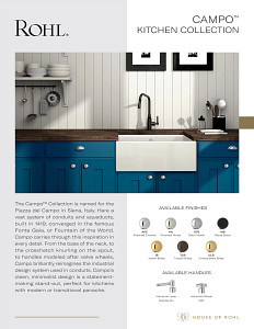 ROHL Campo Kitchen
