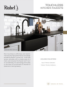 Riobel Touchless Kitchen 2021
