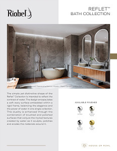 Riobel Reflet Bath 2021