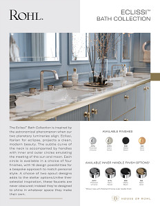 ROHL Eclissi Bath