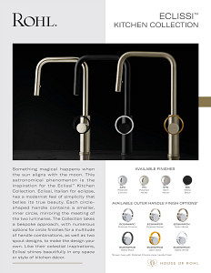 ROHL Eclissi Kitchen